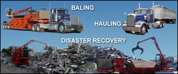 ERI Baling, Hauling, Disaster Recovery Experts